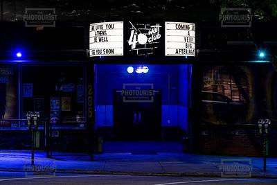 40 Watt Club Marquee - Downtown Athens GA