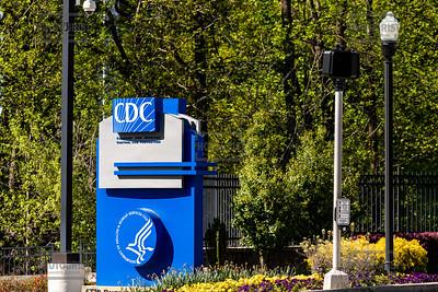 CDC Headquarters Sign - Atlanta GA