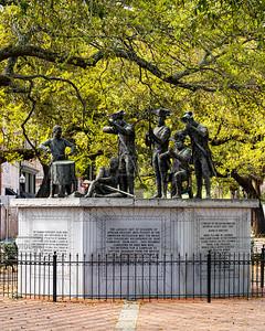 Haitian Monument at Franklin Square - Savannah
