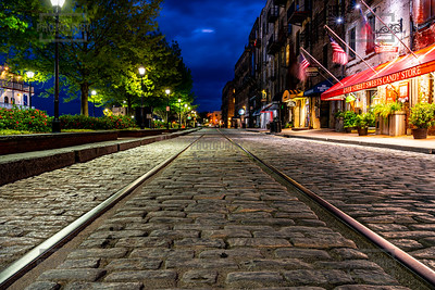 River Street at Dusk - Savannah