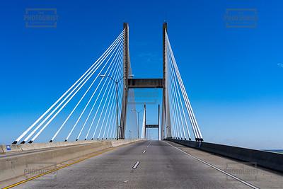 Talmadge Memorial Bridge - Savannah
