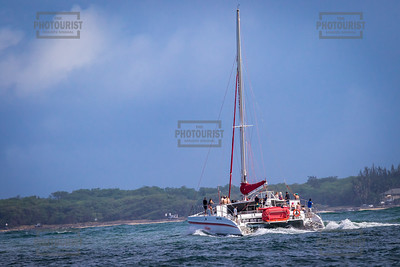 Sail Boat - Kauai Hawaii