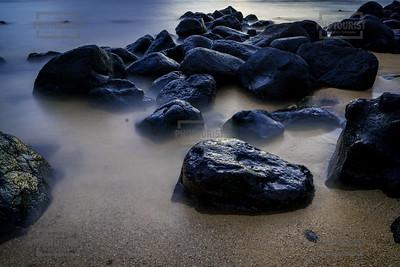 Puu Poa Beach Princeville Sunset - Kauai Hawaii