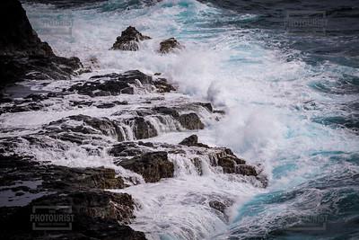 Pacific Ocean Waves - Kauai Hawaii