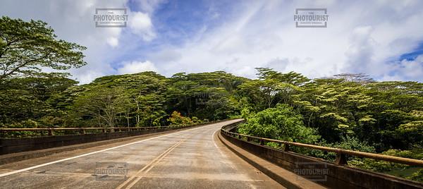 Bridge Panorama - Kauai Hawaii