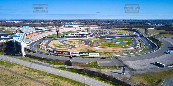 Charlotte Moter Speedway Aerial View - NC