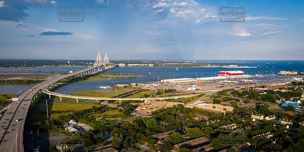 Waterfront Aerial View - Charleston SC