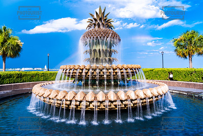 Pineapple Fountain - Charleston SC
