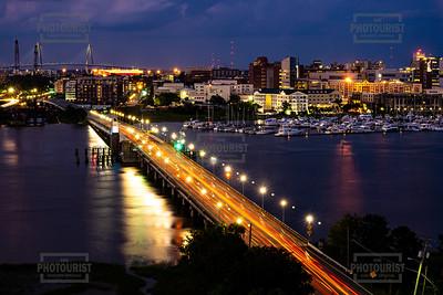 Charleston SC at Night
