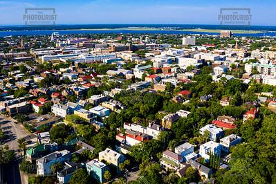 Downtown Aerial View - Charleston SC