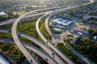 Interstate 26 Aerial View - Charleston SC