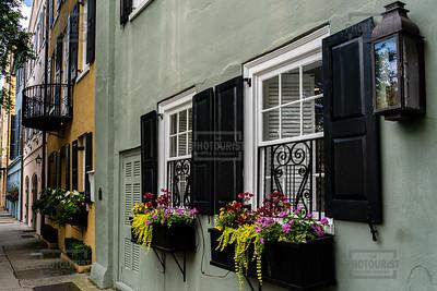 Rainbow Row - Charleston SC