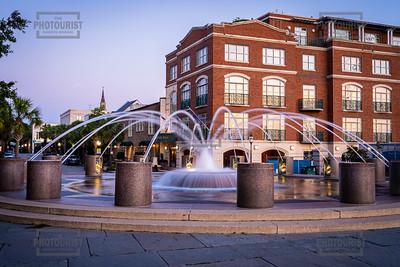 Waterfront Park Fountain - Charleston SC