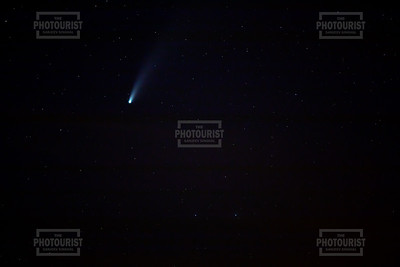 Neowise Comet over Strom Thurmond Lake