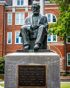Thomas Clemson Statue - Clemson University
