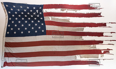 Gatlinburg SkyLift Park US Flag from Fire TN