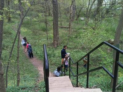 2013-04-18 PreK Earth Day scavenger hunt