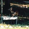 Deer at Feeder Tray at Arbor - July 1996