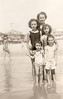 Madeleine Bonini with Children Mary Beatrice, Kathleen, Beatrice Gerturde and Frank III.
