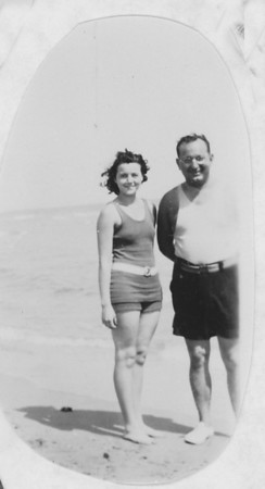Madeleine (Harkins) and Frank Bonini