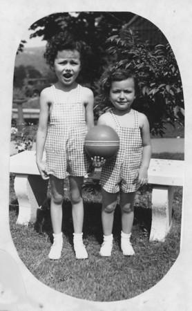 Mary (L) and Kathleen Bonini
