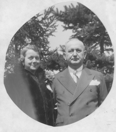 Madeleine and Frank Bonini, parents of Mary, Kathleen, Babbi and Frank