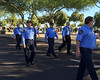 Frank Bonini (middle, left) in Surprise, AZ  Veterans Day Parade. Frank serves in the auxiliary police.