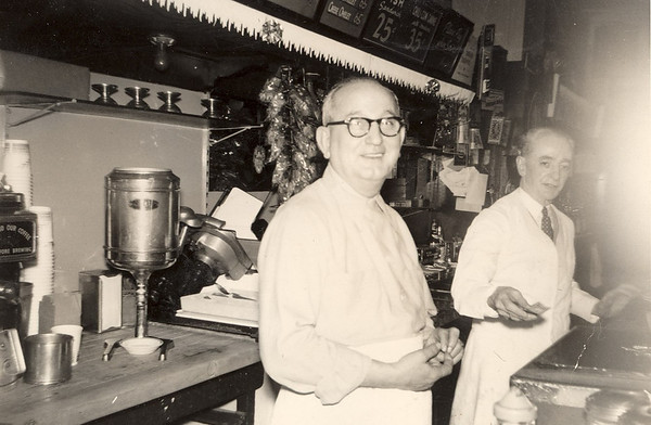 Frank Bonini at one of his downtown Pittsburgh restaurants