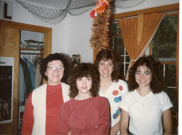 L-R: Kathleen (Bonini) Puhalla and 3 children: