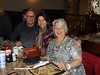 Al Puhalla with Kathy on her 80th Birthday, Daughter Roz joins in.