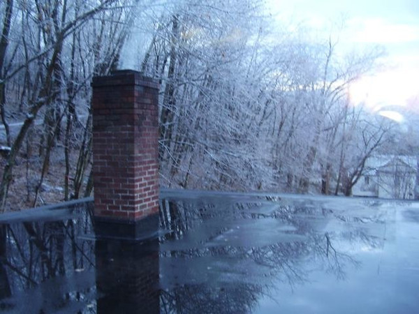 Romney WV ice storm results.