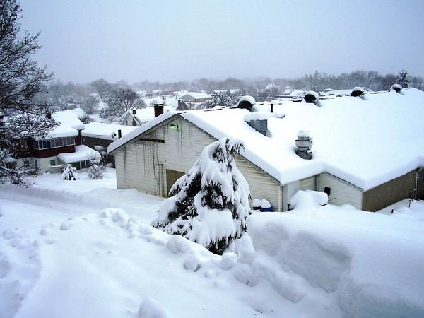 Winter 2012 in Romney WV near Puhalla home