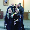 Five generations of the Joanna Lacey Family: Front L->R: Joanna Lacey, Karen Martin Rear L->R: Chris Martin, Logan Martin, Wyatt Martin