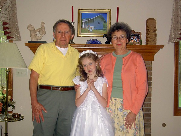 Jim & Mary Lacey with Rachael Gruss