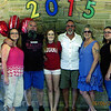 Rachel Gruss Graduation Party - L->R: Karen Martin, Michelle Martin, Chris Martin, Rachel Gruss, Kevin Bradtmueller, Missy Bradtmeuller, Tracy Martin