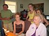Skype video call with Jim's Sister Joan Tallman and her Husband Dick.