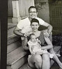 Dick and Joan Tallman with daughter Lisa at early home on Dayton Street in Madison WI.