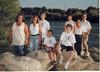 Tallman Family Portrait. L >> R standing - Jane Tallman, Lisa Helmle, Josef Helmle, Lynn Furr, Joan Tallman, Dick Tallman<br /> Seated L >> R - Tyler Helmle, Anthony Furr