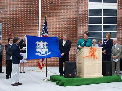 Plainfield High School Ribbon Cutting September 18, 2005