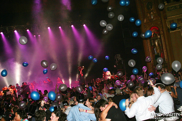 The Resolution Ball '08 - Detroit's New Years Nation Party - Fillmore Theatre 12.31.07