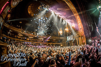 Resolution Ball at The Fillmore in Detroit, MI on December 31st 2015 Photo by Marc Nader