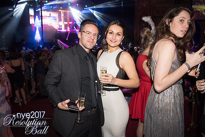 Resolution Ball NYE 2017 at The Fillmore in Detroit, MI Photo by Mike Ferdinande