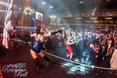 Resolution Ball NYE 2017 at The Fillmore in Detroit, MI Photo by Marc Nader