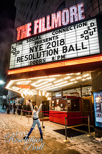 NYE Resolution Ball 2018 at The Fillmore in Detroit, MI photo by Marc Nader