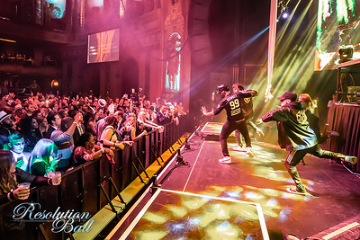 Resolution Ball NYE 2019 at The Fillmore in Detroit, MI photo by Marc Nader