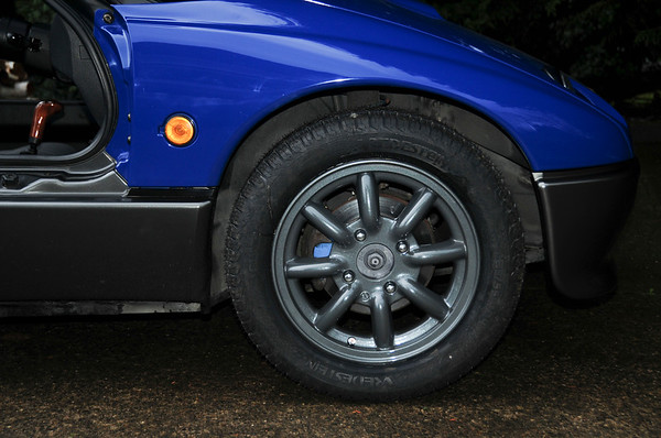 New Watanabe 8-spoke rims with a bit larger tires than OEM