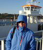 Cold day on the Ferry