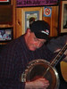 Doolin Session banjo player