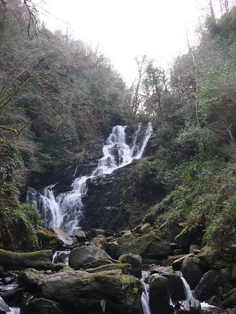 Waterfall in the park