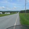 North 5A toward West Charleston, VT